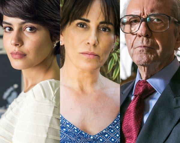 Adriana Julia Dalavia acusa Duda Gloria Pires de ter sido culpada pela morte de Natanael Juca de Oliveira na novela O Outro Lado do Paraso